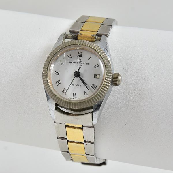 110a708bb40 BAUME   MERCIER - Antigo Relógio de pulso feminino