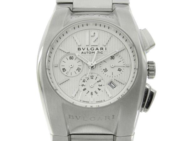 a8d33c0451f Relógio Bulgari Ergon Cronógrafo - Caixa e pulseira em aço - Tamanho da  caixa .