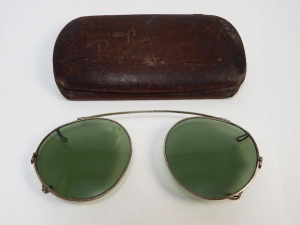 Vintage - Ray Ban - óculos de sol para encaixe em óculo 04045fbbff