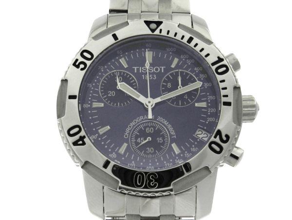 6d47230b187 Relógio Tissot PRS200 Cronógrafo - Caixa e Pulseira em aço - Tamanho da  Caixa 40mm - Funções  Horas