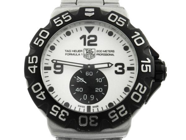 eb4e08c60e8 Relógio Tag Heuer Formula 1 - Caixa e pulseira aço - Tamanho da caixa 44mm  - Funções  Horas