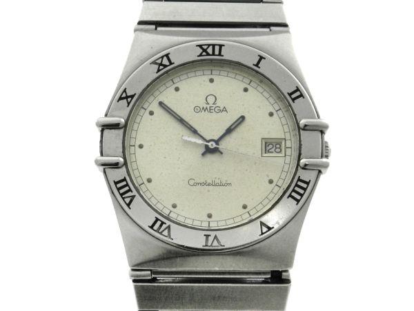 6e225f48f18 Relógio Omega Constellation Cindy Crawford - Caixa e pulseira em aço -  Tamanho da caixa 33mm - Funções  Horas