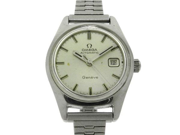 4a0ed634dd1 Relógio Omega Geneve - Caixa e pulseira em aço - Tamanho da caixa 24.5mm -  Funções  Horas
