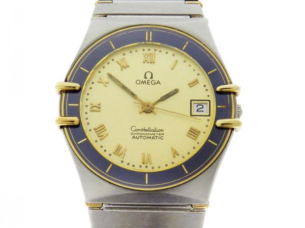 a2c24ce5e86 Relógio Omega Constellation - Caixa em aço e ouro e pulseira em aço -  Tamanho da caixa 33mm - Funções  Horas