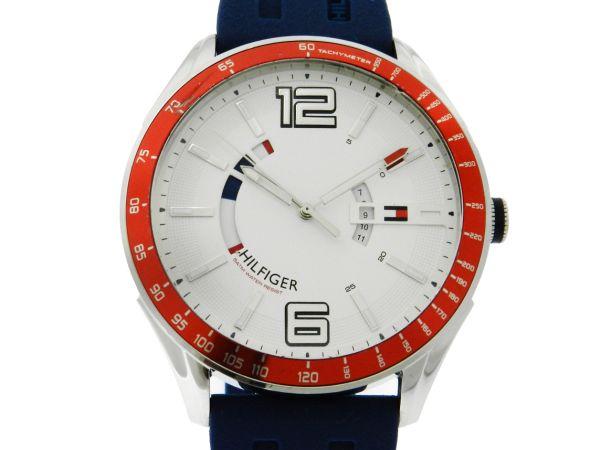 f621b9f5996 Relógio Tommy Hilfiger - Caixa em aço - Pulseira em borracha - Tamanho da  caixa 47mm - Funções  Horas