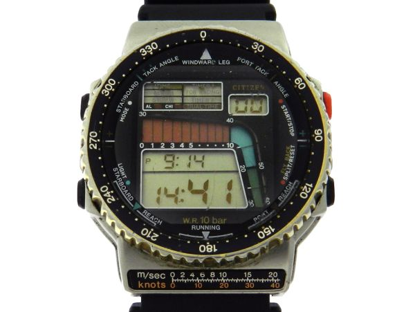 d3d78d4d753 Relógio Citizen Wind Velocity - Caixa em aço - Pulseira