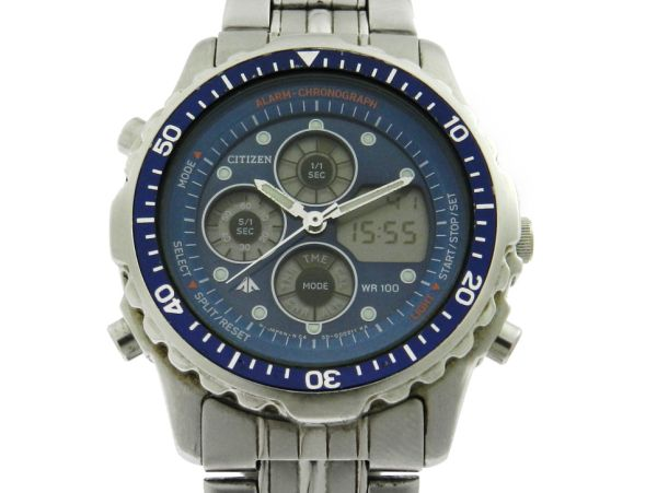 d480c192722 Relógio Citizen Promaster - Caixa e pulseira em aço - Tamanho da caixa 37mm  - Funções  Horas