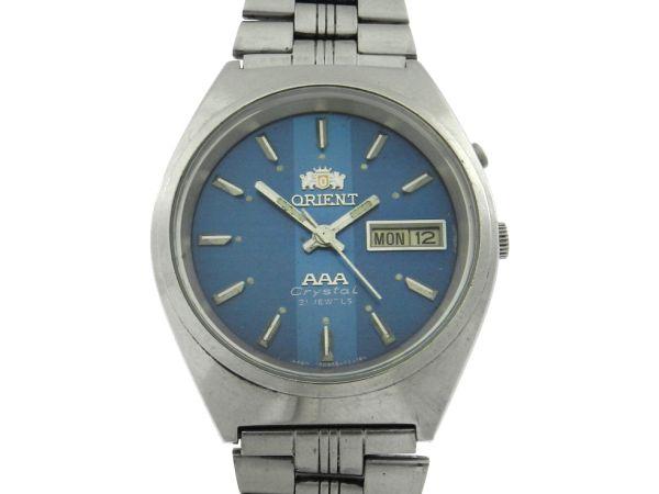 4f4cb138ff2 Relógio Orient AAA - Caixa e Pulseira em aço - Tamanho da caixa 36mm -  Funções  Horas