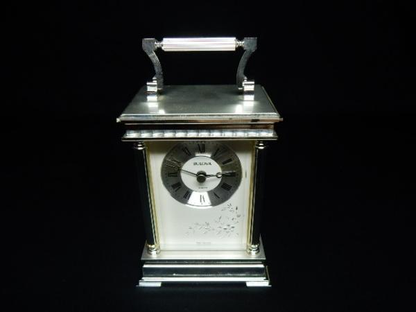 1f6dd725dda BULOVA - Clássico relógio de viagem ( Carriage ) montad