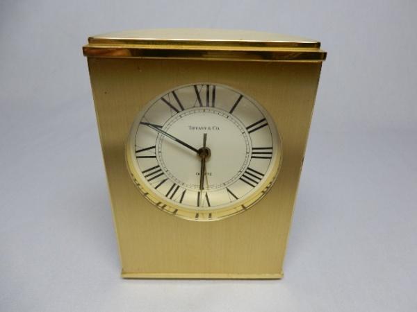 3366c7f84cd TIFFANY   Co - Raro relógio de mesa em bronze de excepcional fundição
