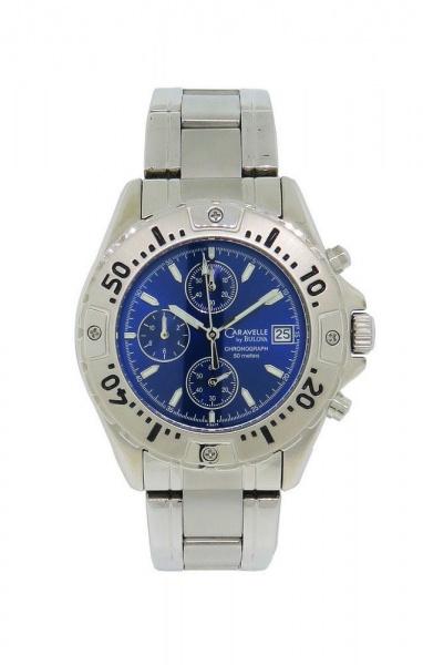 3f28aa2c92f BULOVA CARAVELLE - Impecável relógio de pulso modelo 43 B 17 com belíssima .