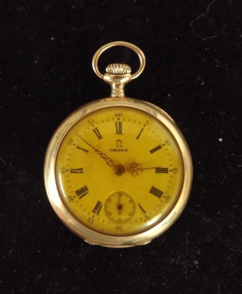 8eda5cebf86 Magnífico relógio de bolso OMEGA Grand Prix - Paris - 1900