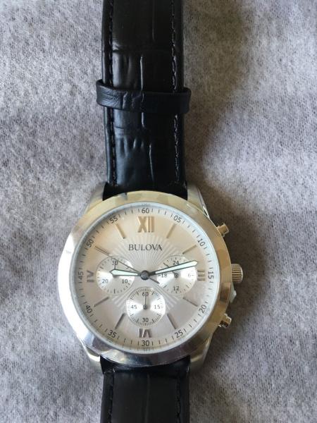 3121ca0761c BULOVA - Impecável relógio Bulova modelo 96 A 162 com belíssima caixa de 40  .