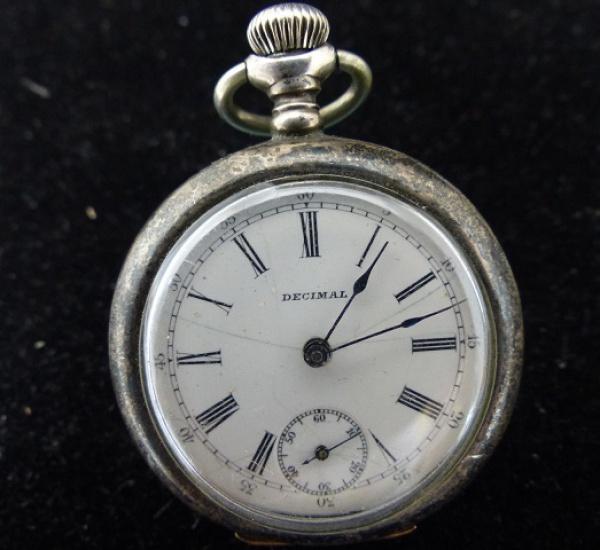 129fd3d8754 SWISS - Raro relógio de bolso em prata de lei teor 925 com rico trabalho de  .