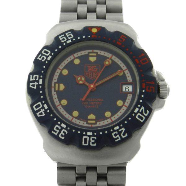 de2fb868e85 Relógio Tag Heuer Formula 1 - Caixa e pulseira em aço - Tamanho da caixa   35mm - Funções  Horas