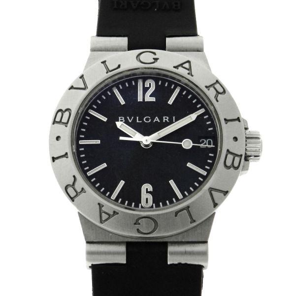 d558b6b1d1a Relógio Bulgari Bvlgari Diagono Sport Line - Caixa em aço - Pulseira em  borracha - Tamanho da Caixa 29mm - Funções  Horas