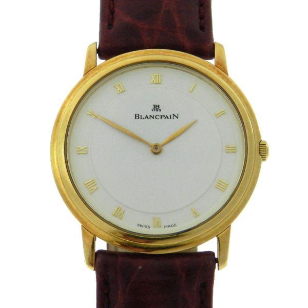 8d85d7d8e9a Relógio Blancpain Leman Ultra Slim - Caixa em ouro amar