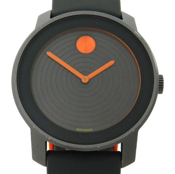 0aaba6d6f54 Relógio Movado Bold Aluminium - Caixa em aluminio - Pulseira em borracha -  Tamanho da caixa 43.6mm - Funções  Horas