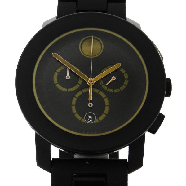 a2fc49bad66 Relógio Movado Bold Chronograph Ceramic - Caixa em cerâmica e aço - Pulseira  em borracha e cerâmica - Tamanho da caixa 43mm - Funções  Horas