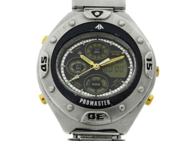 4aac06c959d Relógio Citizen Promaster - Caixa e pulseira em aço - Tamanho da caixa  40.5mm - Funções  Horas