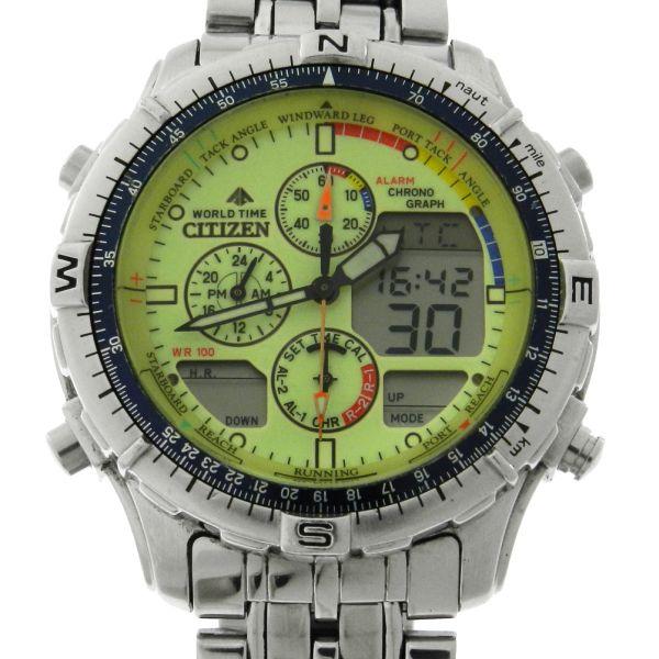 a7dbd6ccd4e Relógio Citizen Aqualand Promaster - Caixa e pulseira aço - Tamanho da caixa  46mm - Funções  Horas