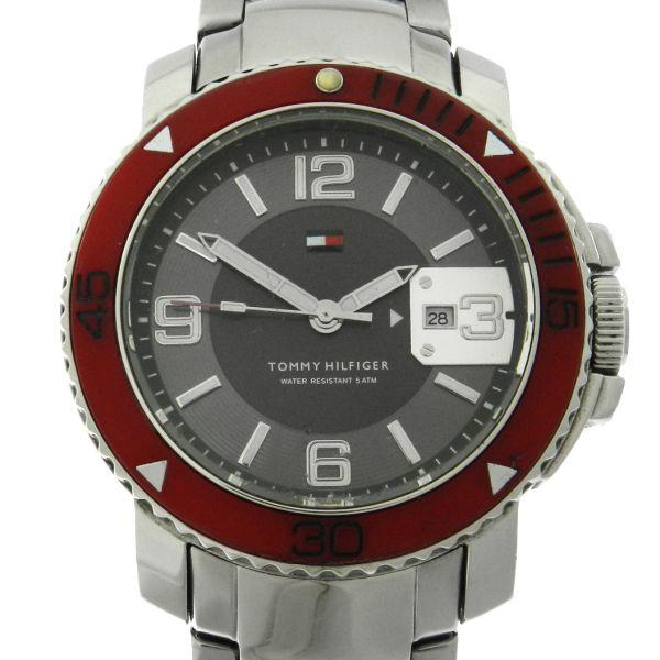 fa09e96db35 Relógio Tommy Hilfiger - Caixa e pulseira em aço -Tamanho da Caixa 42.5mm -  Funções  Horas