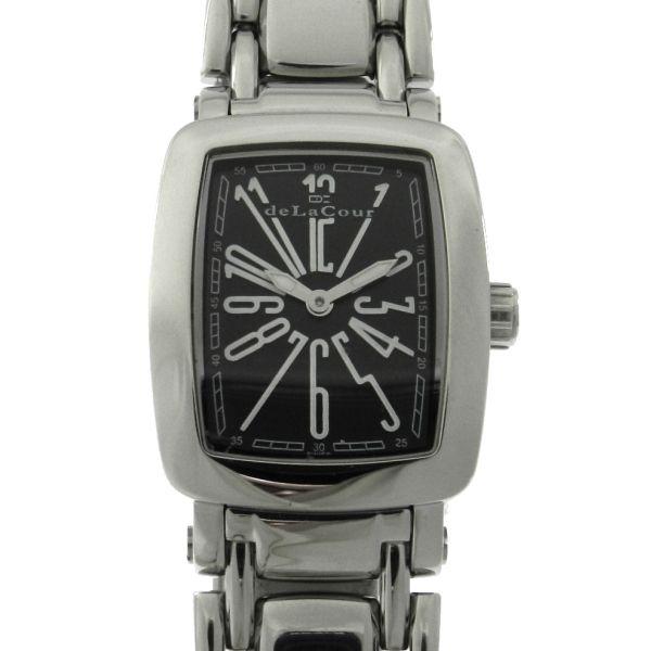 711b12db2b1 Relógio deLa Cour - Mini Via Larga - Série Limitada - Caixa e pulseira em  aço - Tamanho da caixa 26mm x 32mm (Sem contar garras ou coroa) - Funções   Horas e ...