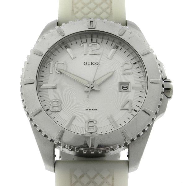 263ef62d6ad Relógio Guess - Caixa em aço e pulseira em borracha - Tamanho da caixa 43mm  - Funções  Horas
