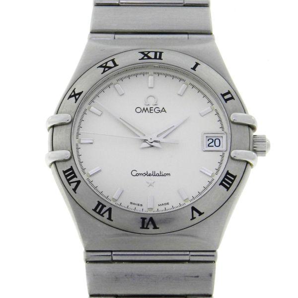 294efca6999 Relógio Omega Constellation - Caixa e Pulseira em aço - Tamanho da caixa  34mm - ... Valor Inicial