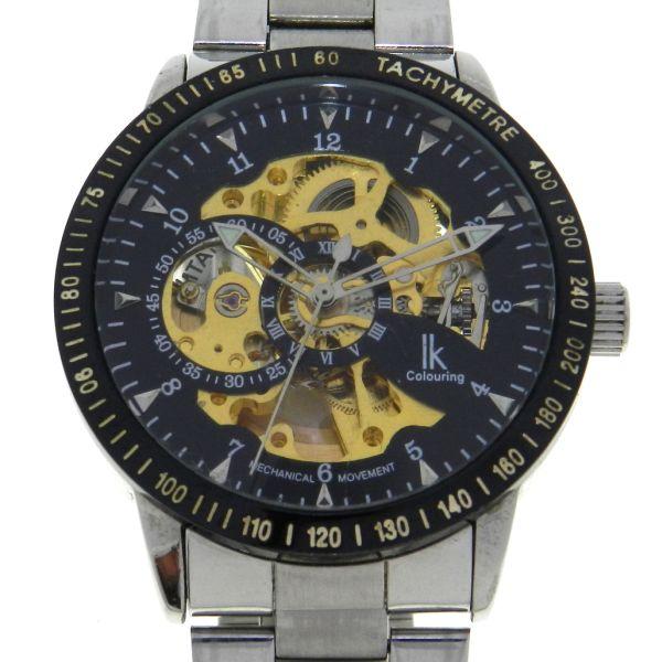 2a00949894c Relógio IK - Caixa e Pulseira em aço - Tamanho da caixa 42mm - Funções   Horas