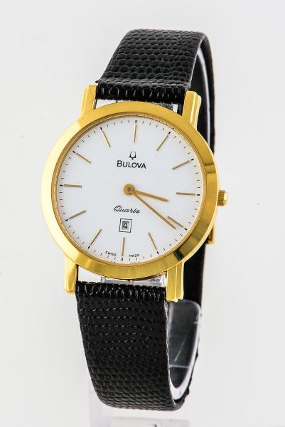 d17359c42fa BULOVA Relógio Classico Folheado a Ouro