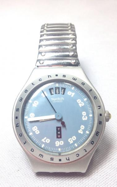 de678fff740 SWATCH IRONY (Aluminium) - Relógio de pulso suíço a quartz