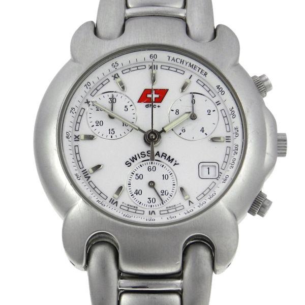 862e56cb607 Relógio Swiss Army dhc+ Classic Cronógrafo - Caixa e pulseira em aço -  Tamanho da caixa 38mm - Funções  Horas
