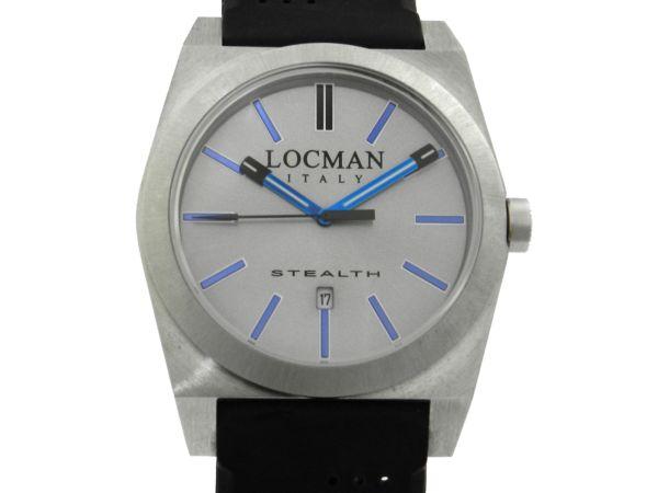 e67d10240d4 Relógio Locman - Caixa em aço e pulseira em borracha - Tamanho da caixa  42mm - Funções  Horas