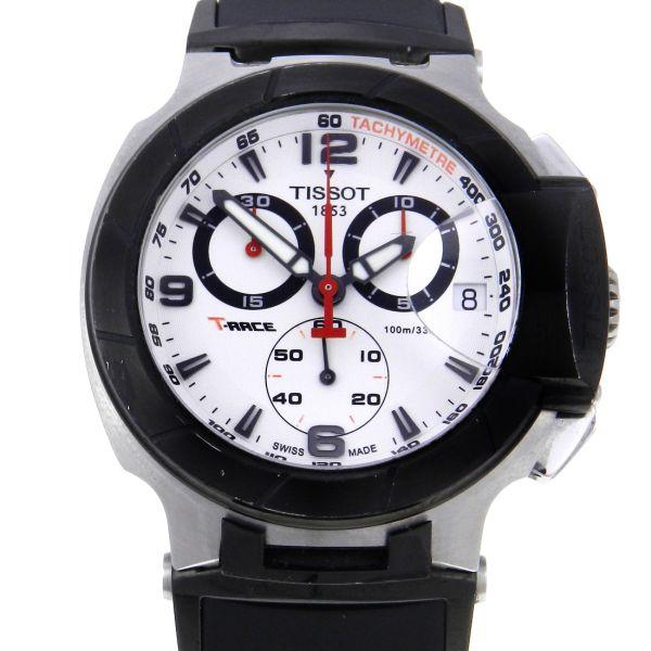 75bdc5dc1b1 Relógio Tissot T-Race Cronógrafo - Caixa em aço - Pulseira em borracha -  Tamanho da caixa  46mm - Funções  Horas