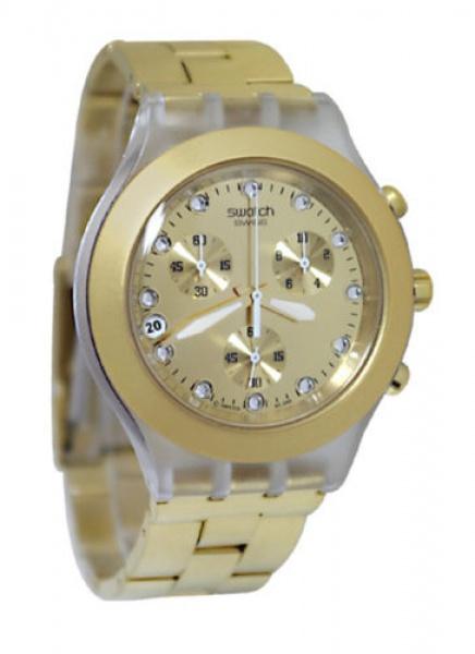 9b6b303bb6e SWATCH - Belíssimo relógio modelo Irony Diaphane