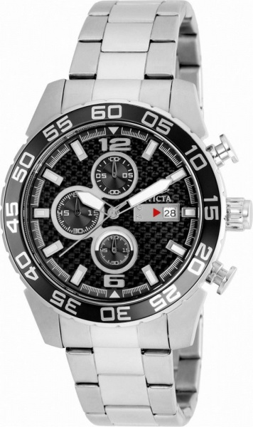21a4738932c INVICTA SWISS - Relógio sem uso Invicta Especialty Cronograph modelo nº  21375