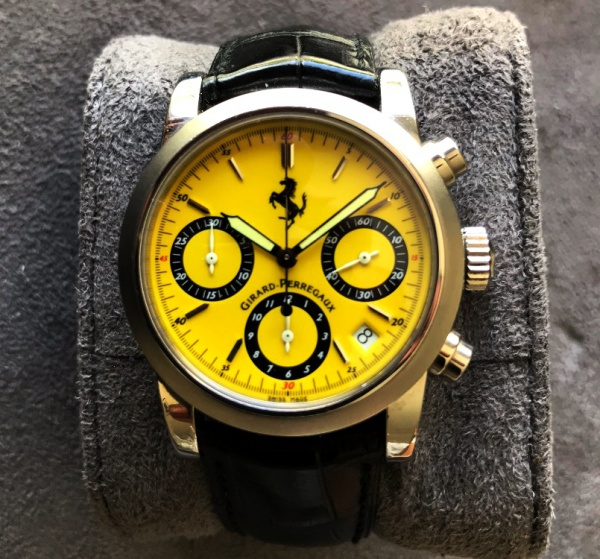 d8615087929 Relógio GERARD PERREGAUX - Ferrari Yellow Dial - Automatic - chronograph - .