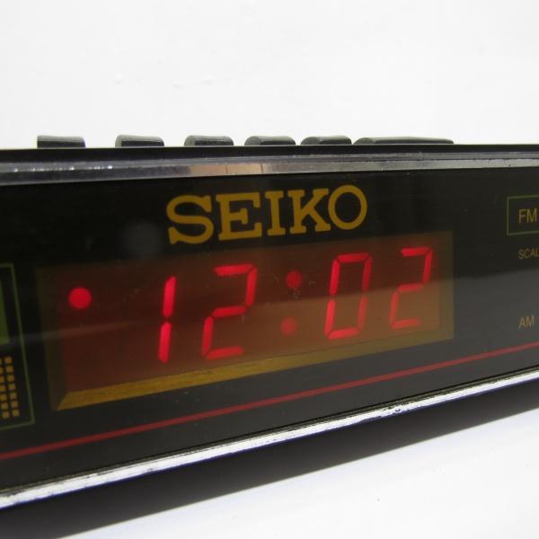 00ed006935f Antigo rádio relógio SEIKO AM FM - Muito bem conserva