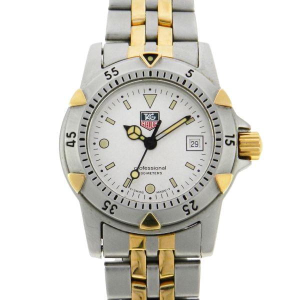 5999dfd4d6b Relógio Tag Heuer Serie 1500 - Caixa e pulseira em aço e plaque de ouro - .