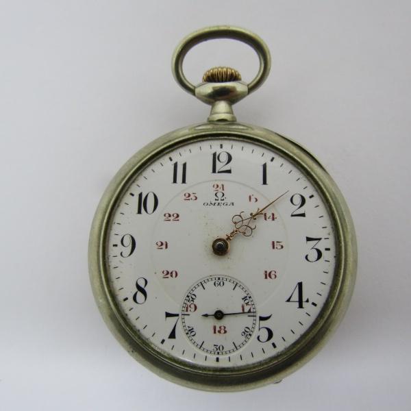 980e8165b1a Relógio de bolso Omega Ferradura Muito bem conservado