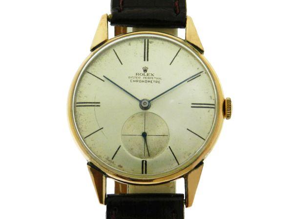 73f8a56be38 Relógio Rolex Precision - Vintage - Caixa em ouro amarelo 18k 750 -  Pulseira em .