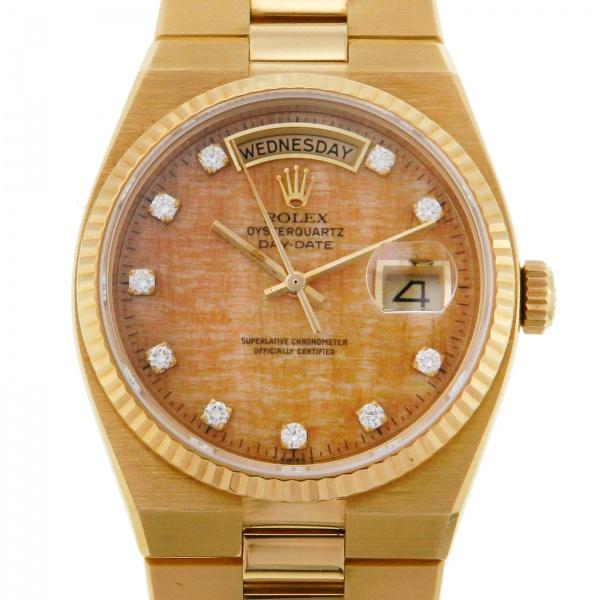 5c8d679aa5b Relógio Rolex Day-Date Oyster Quartz Presidente - Caixa e pulseira em ouro  18k 750 - Tamanho da caixa  36mm - Funções  Horas