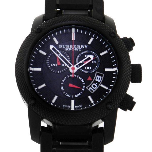 3a7ec69207d Relógio Burberry Sport Chronograph PVD - Caixa e pulseira em aço com  tratamento PVD - Tamanho da caixa 44mm - Funções  Horas