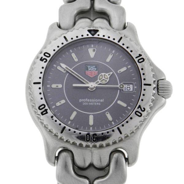 9ac85bb70a9 Relógio Tag Heuer Sport Elegancy - Caixa e pulseira em aço - Tamanho da  Caixa 34mm - Funções  Horas