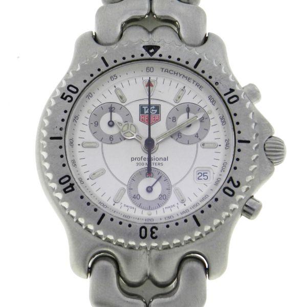90f07436cd6 Relógio Tag Heuer Sport Elegancy Chronograph - Caixa em aço - Pulseira em  aço - Tamanho da Caixa 39mm - Funções  Horas