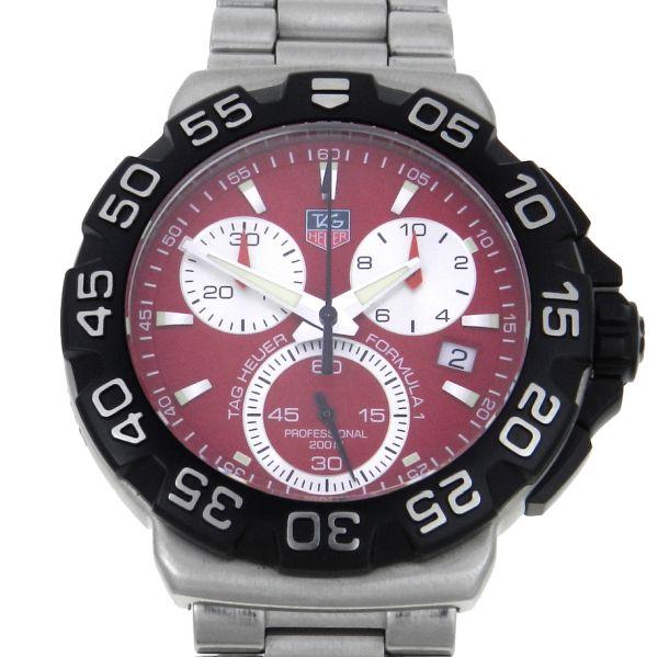 aa442fb28a0 Relógio Tag Heuer Formula 1 Chronograph - Caixa e pulseira em aço - Tamanho  da Caixa 41mm - Funções  Horas