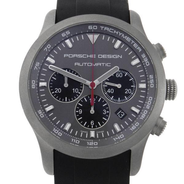 2ce28491c1b Relógio Porsche Design Chronograph P6612 - Dashboard - Caixa em Titânio -  Pulseira em borracha - Tamanho da caixa 42mm ( Sem contar garras ou coroa) .
