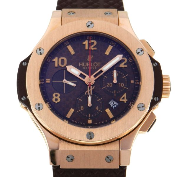 7b8c0ae61c8 Relógio Hublot Big Bang Chronograph - Caixa em ouro rosa 18k 750 - Pulseira  em .