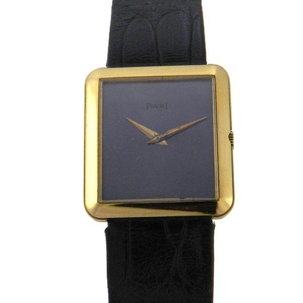 7cc1a6c9163 Relógio Piaget Protocole - Caixa em ouro amarelo 18k 750 - Pulseira em  couro - .
